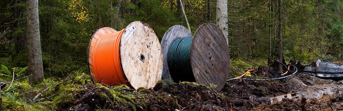 kabelförläggning i mark standard